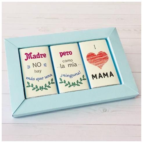 Marco 3 chocolates - Madre no hay mas...
