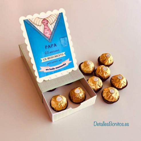 Caja Pop Up - Papa te mereces un...