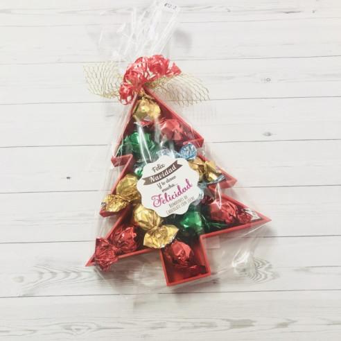 Árbol de Navidad  con bombones