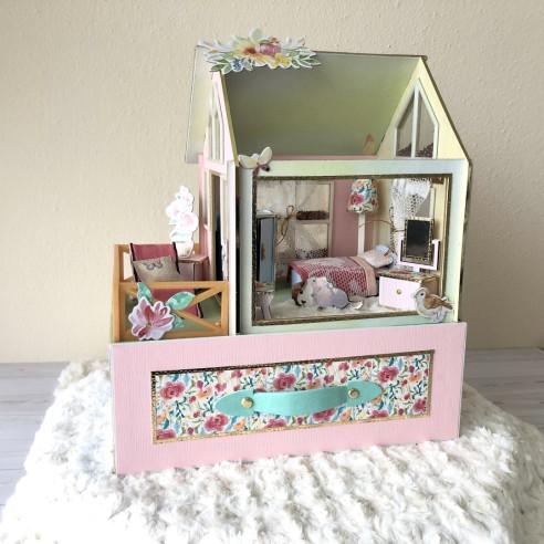 Casita habitación en miniatura