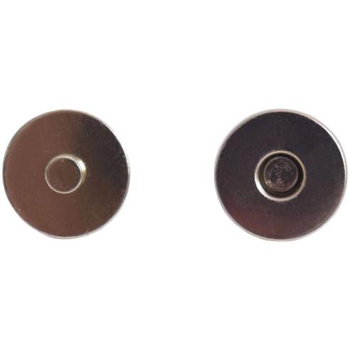 BOTON cierre magnético DORADO 14mm.