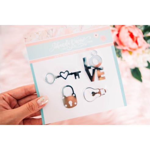Pack bisutería - (Love, llave,...