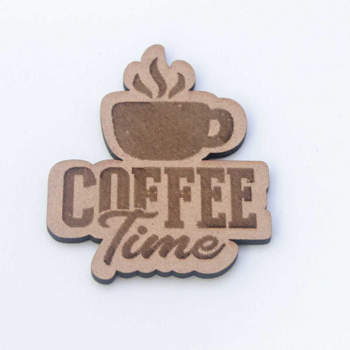 Coffe time de madera