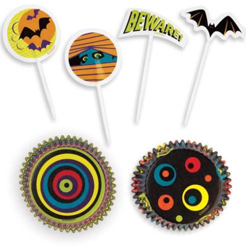 Set Capsulas para cupcakes Halloween...
